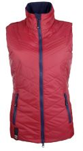 HKM PRO TEAM HICKSTEAD GILET - RED/NAVY - RRP £46.95
